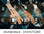 business people in a meeting   Shutterstock . vector #1414171283
