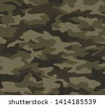 full seamless abstract military ... | Shutterstock .eps vector #1414185539