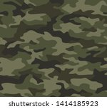 full seamless abstract military ... | Shutterstock .eps vector #1414185923
