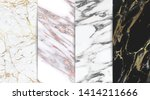 luxury marble background... | Shutterstock .eps vector #1414211666
