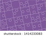 pieces puzzle background ...   Shutterstock .eps vector #1414233083
