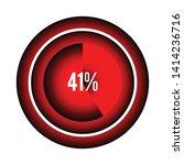 circle percentage diagrams 41 ...