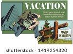 vector. stock illustration. man ...   Shutterstock .eps vector #1414254320