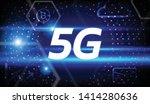 5g network concept illustration ...
