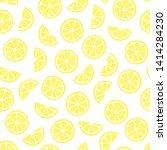 Vector Seamless Fruit Pattern...