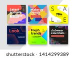 modern promotion square web... | Shutterstock .eps vector #1414299389