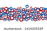 vector background with buttons... | Shutterstock .eps vector #1414335539