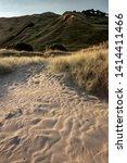 Wind Pattern In White Sand ...