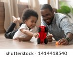 cute little african kid son... | Shutterstock . vector #1414418540