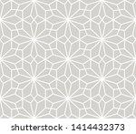 modern simple geometric vector... | Shutterstock .eps vector #1414432373