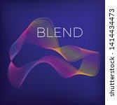 blend gradient illustration... | Shutterstock .eps vector #1414434473