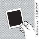 hand outline brush stroke style ... | Shutterstock .eps vector #1414452929