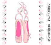 A Set Of Ballet Pointes Shoes....