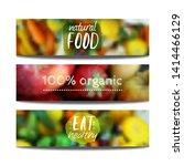 vector banners design template... | Shutterstock .eps vector #1414466129