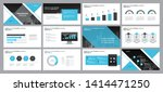 business presentation... | Shutterstock .eps vector #1414471250