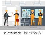 set of professionals teamwork ... | Shutterstock .eps vector #1414472309