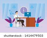 behavior modification at work... | Shutterstock .eps vector #1414479503