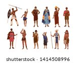 collection of aboriginal or... | Shutterstock .eps vector #1414508996