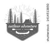 outdoor badge and adventure...   Shutterstock .eps vector #1414513850