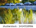 whitestone pond at hampstead...   Shutterstock . vector #1414518986