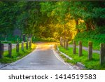 heath brow entry to the...   Shutterstock . vector #1414519583