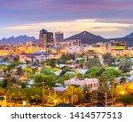 Tucson  Arizona  Usa Downtown...