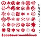 vector collection with... | Shutterstock .eps vector #141464290
