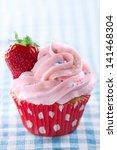 Pink Cupcake With Fresh...