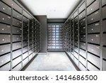 Mailbox Room In A Condominium