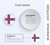faroe islands country set of...
