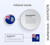 falkland islands country set of ...