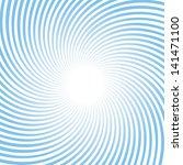 rotating blue radiant background   Shutterstock . vector #141471100