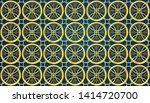 islamic pattern ramadan... | Shutterstock .eps vector #1414720700