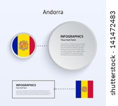 andorra country set of banners...