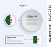 algeria country set of banners...