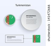 turkmenistan country set of...