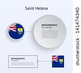 saint helena country set of...
