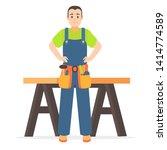 cartoon character person... | Shutterstock .eps vector #1414774589