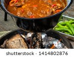 Ready Kettle Goulash After Fou...