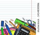 vector cartoon illustration  ...   Shutterstock .eps vector #1414830086
