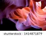 antelope canyon. the light... | Shutterstock . vector #1414871879