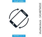 smartphone icon vector design...