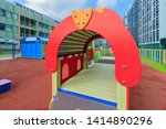 colorful playground in public... | Shutterstock . vector #1414890296