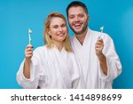image of woman and man and... | Shutterstock . vector #1414898699