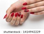 summer bright  red  scarlet...   Shutterstock . vector #1414942229