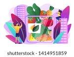 vegetarian healthy eating ... | Shutterstock .eps vector #1414951859