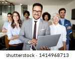 business people conference and... | Shutterstock . vector #1414968713