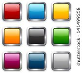 set of blank colorful square... | Shutterstock .eps vector #141499258