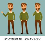 cartoon illustration of a... | Shutterstock .eps vector #141504790