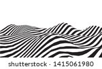 Optical Illusion Wave. Abstract ...